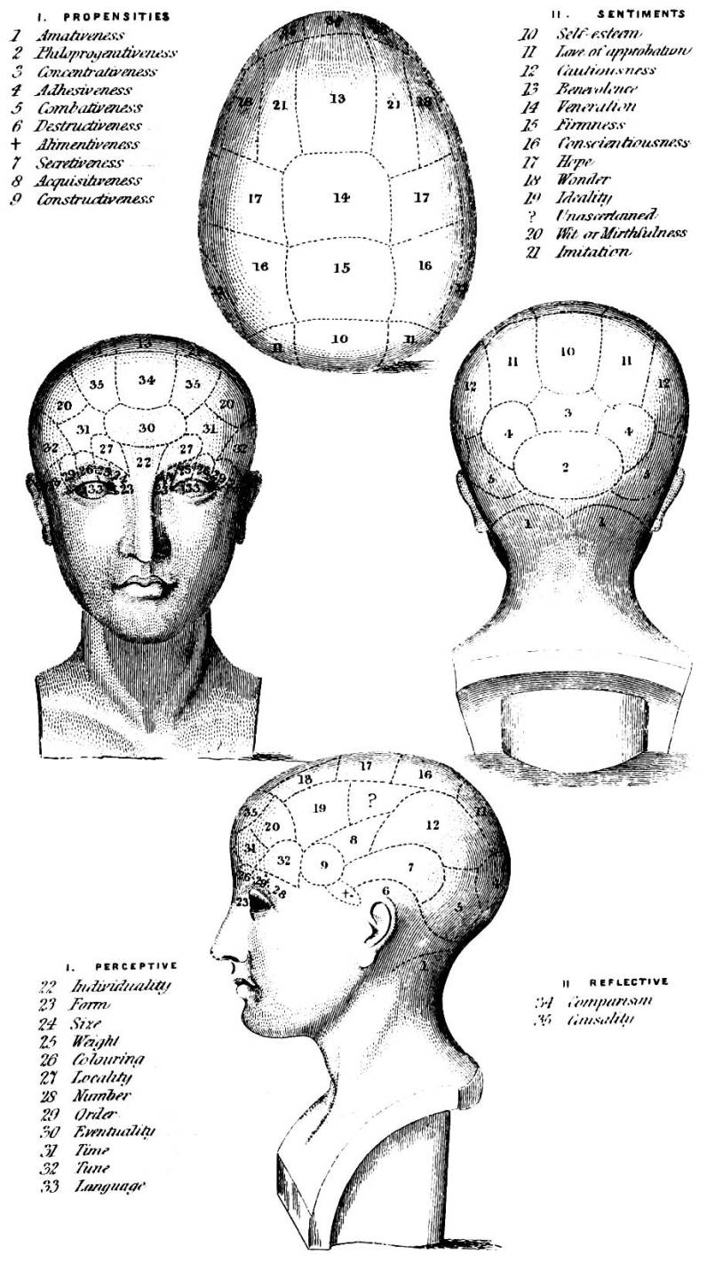 victorian contexts george combe and phrenology